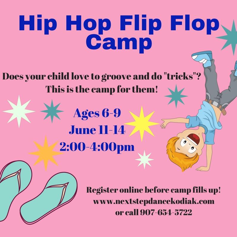 SUMMER CAMPS – Next Step Dance Kodiak