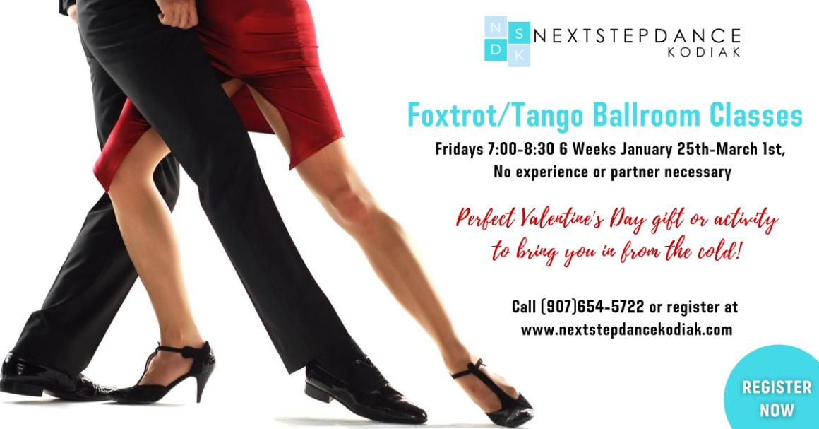 6 Week Foxtrot and Tango Class!