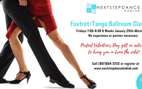 6 Week Foxtrot and Tango Class!