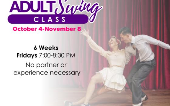 Swing Class starts October 4!